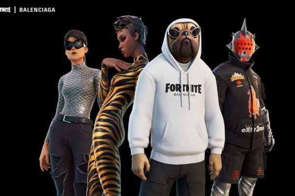 Balenciaga teams up with popular online gaming platform Fortnite to create Strange Times campaign.